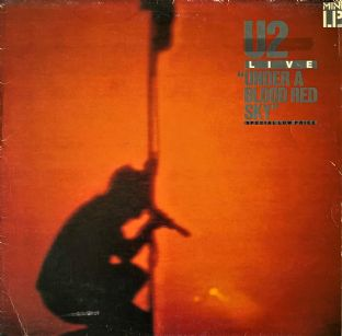 U2 - Live: Under A Blood Red Sky (Mini LP) (VG-/G)